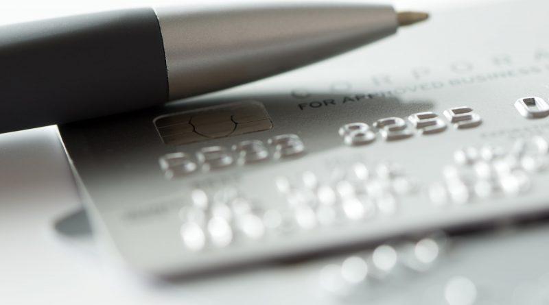 Silver credit card